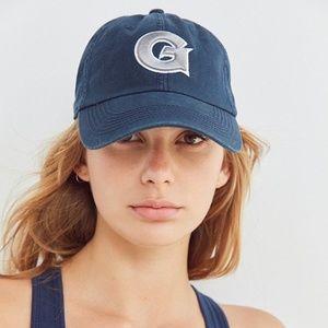Georgetown Hoyas Baseball Hat Navy Blue